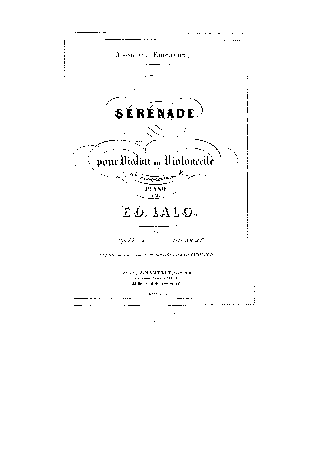 PMLP88008-Lalo - Serenade Op14 No2 for violin and piano score.pdf