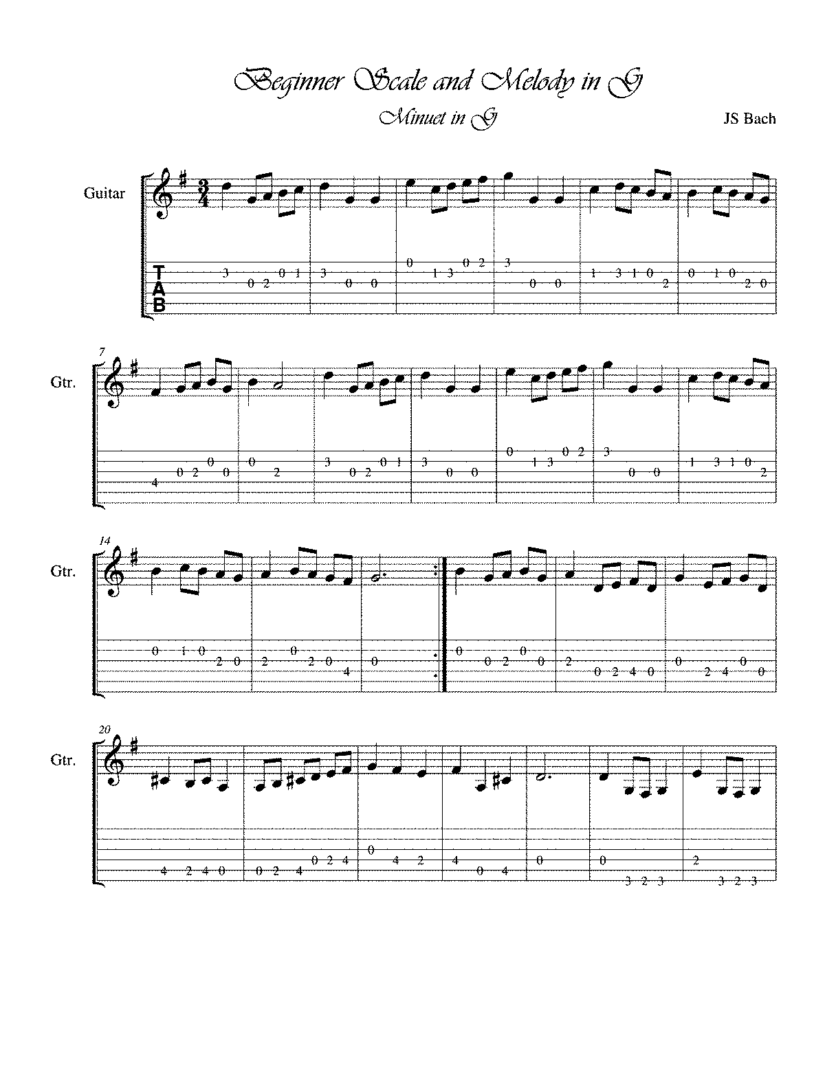 PMLP218492-Beginner guitar scale and melody in G Major.pdf