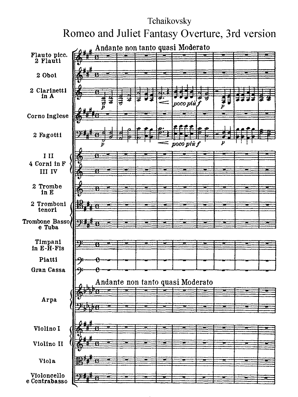 Tchaikovsky - Romeo and Juliet - Eulenburg.pdf