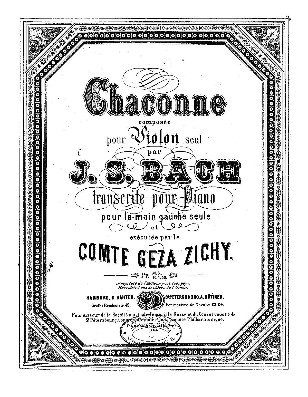PMLP04292-Bach - Chaconne (arr Geza Zichy) for piano LH solo Hamburg (ca1895).pdf
