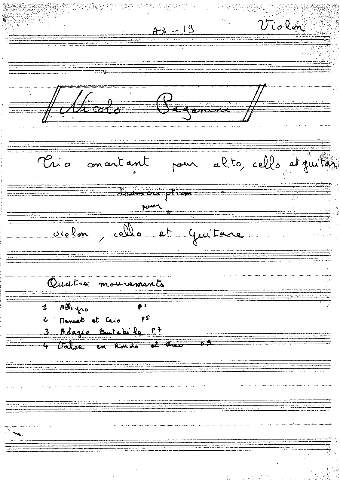 PMLP71979-Paganini trio alto-cello-guitare ( + arrengement alto en violon) -Violon ( transcription de l'Alto)-.pdf