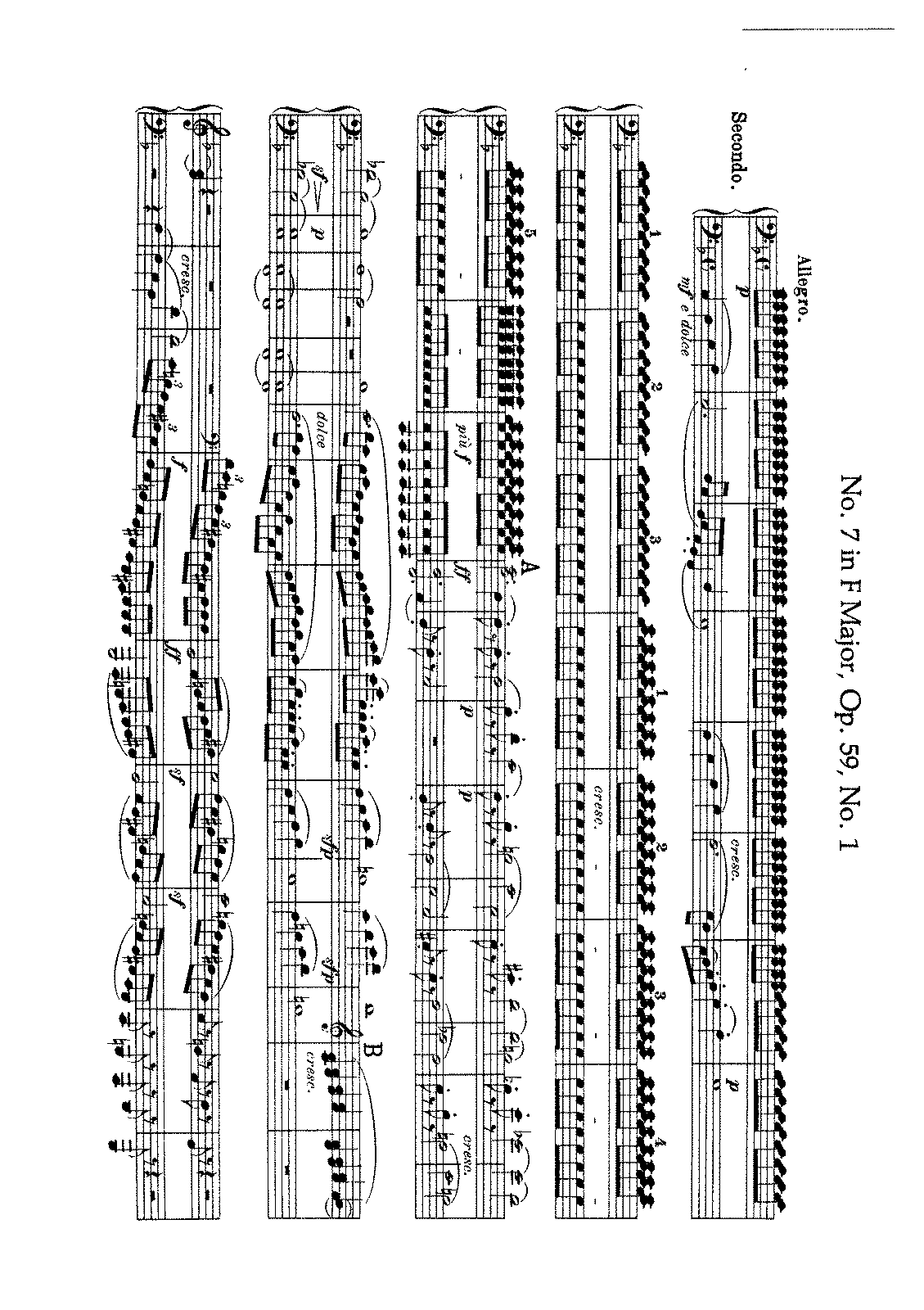 Beethoven - String Quartet No. 7 (Arr. for Piano 4 h.).pdf