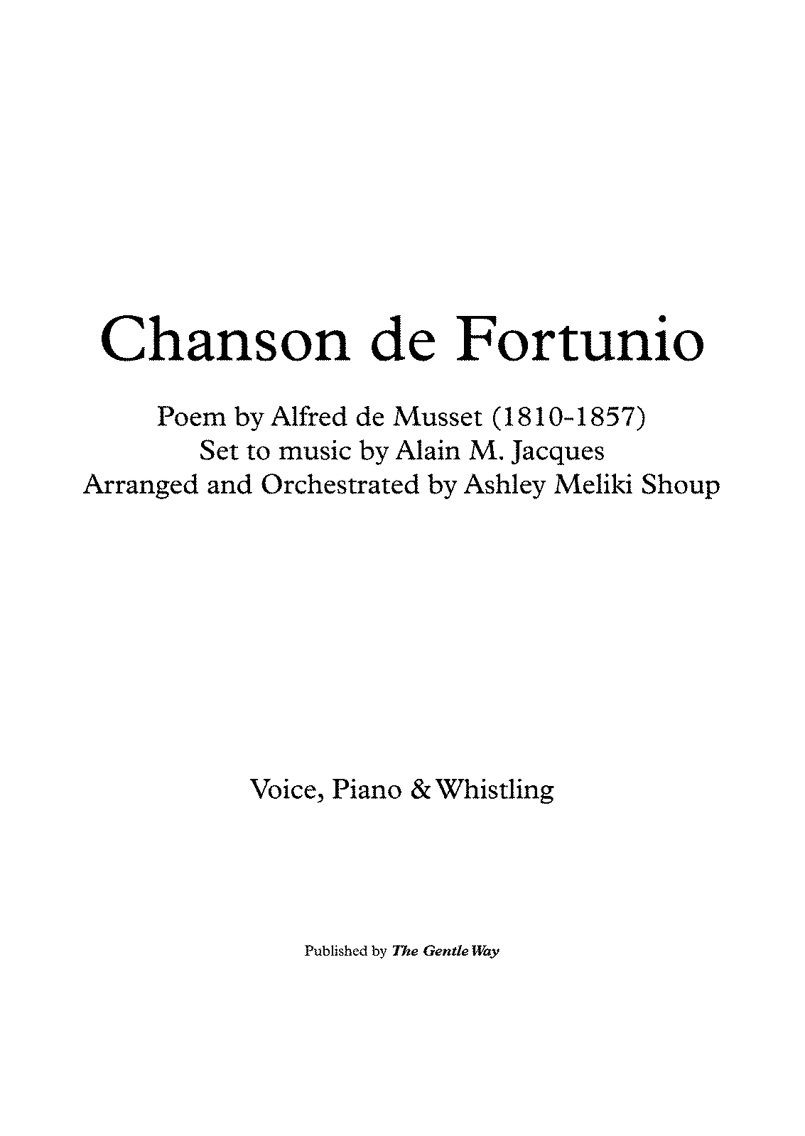 PMLP449264-Chanson de Fortunio (A. Jacques - A. de Musset) piano and whisttle - Full Score.pdf