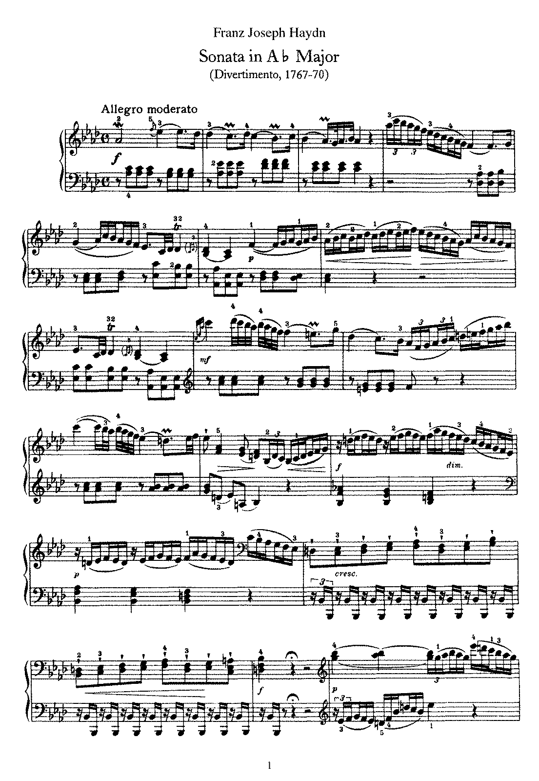 Haydn - Piano Sonata No 46 in Ab.pdf