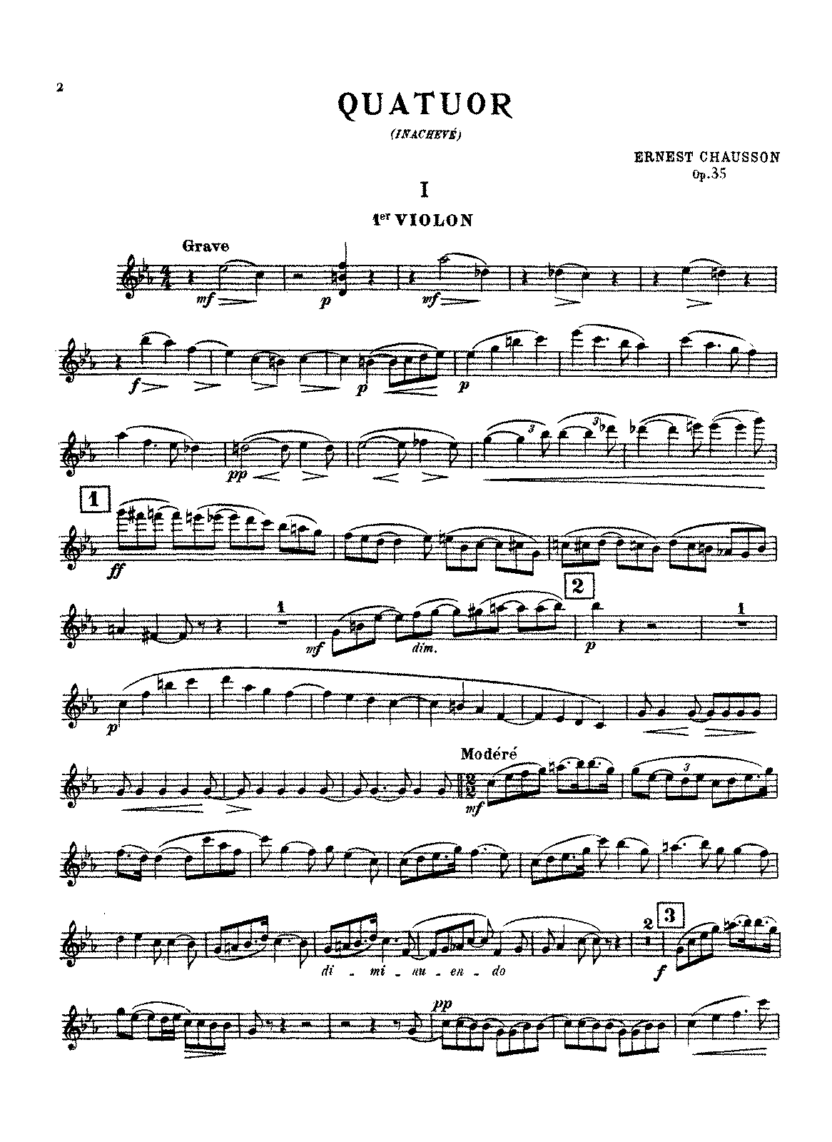 PMLP61225-Chausson - String Quartet, Op. 35 (parts).pdf