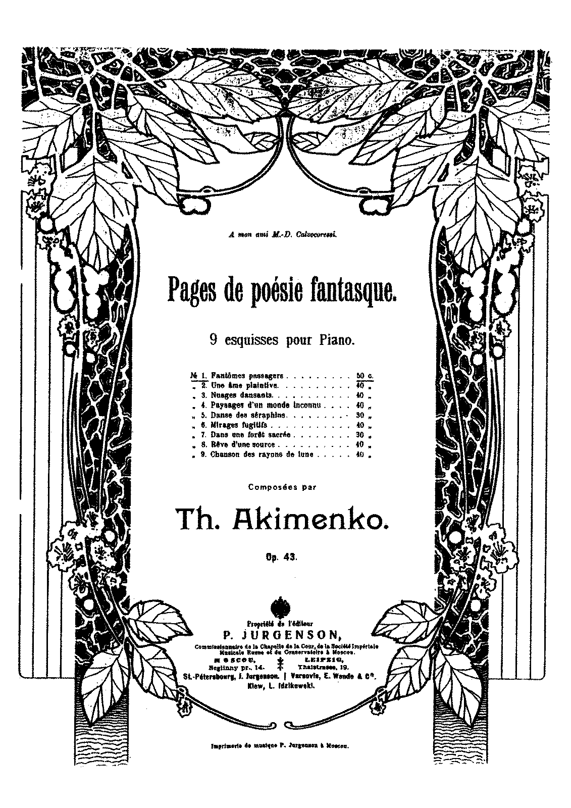 PMLP353500-Akimenko - 43 Pages de poesie fantasque op 43 - 9 Esquisses.pdf