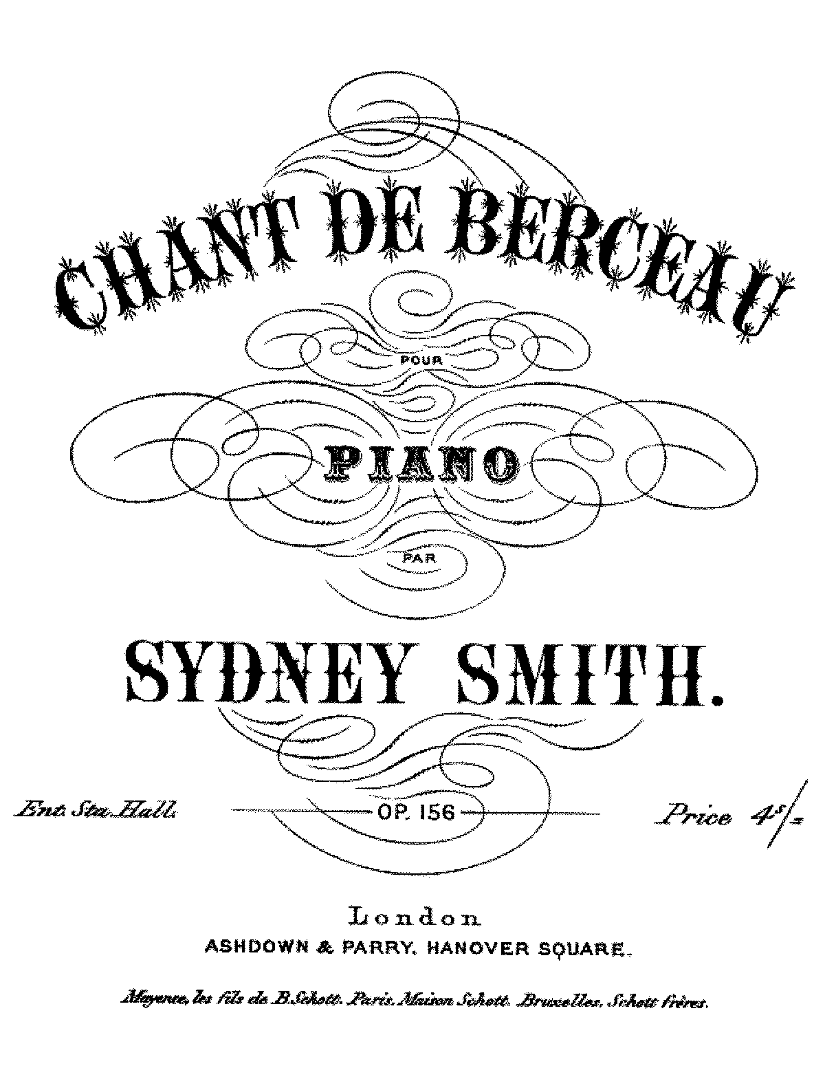 Smith, Sydney op156 chant de berceau.pdf