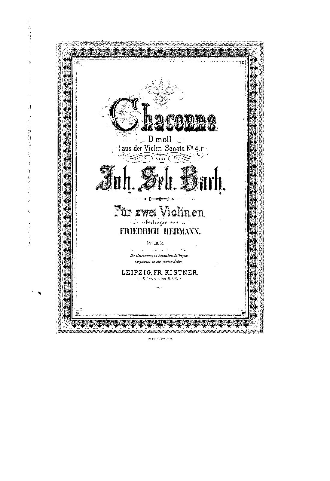 PMLP04292-Bach - Chaconne from the Violin Sonate No4 in D minor for 2 Violins (Hermann) violin 1.pdf