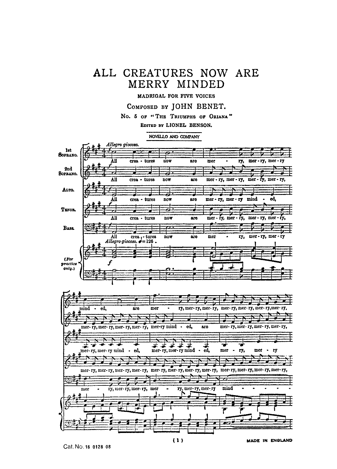 PMLP236308-Bennet, John, All Creatures Now, VocalScore.pdf