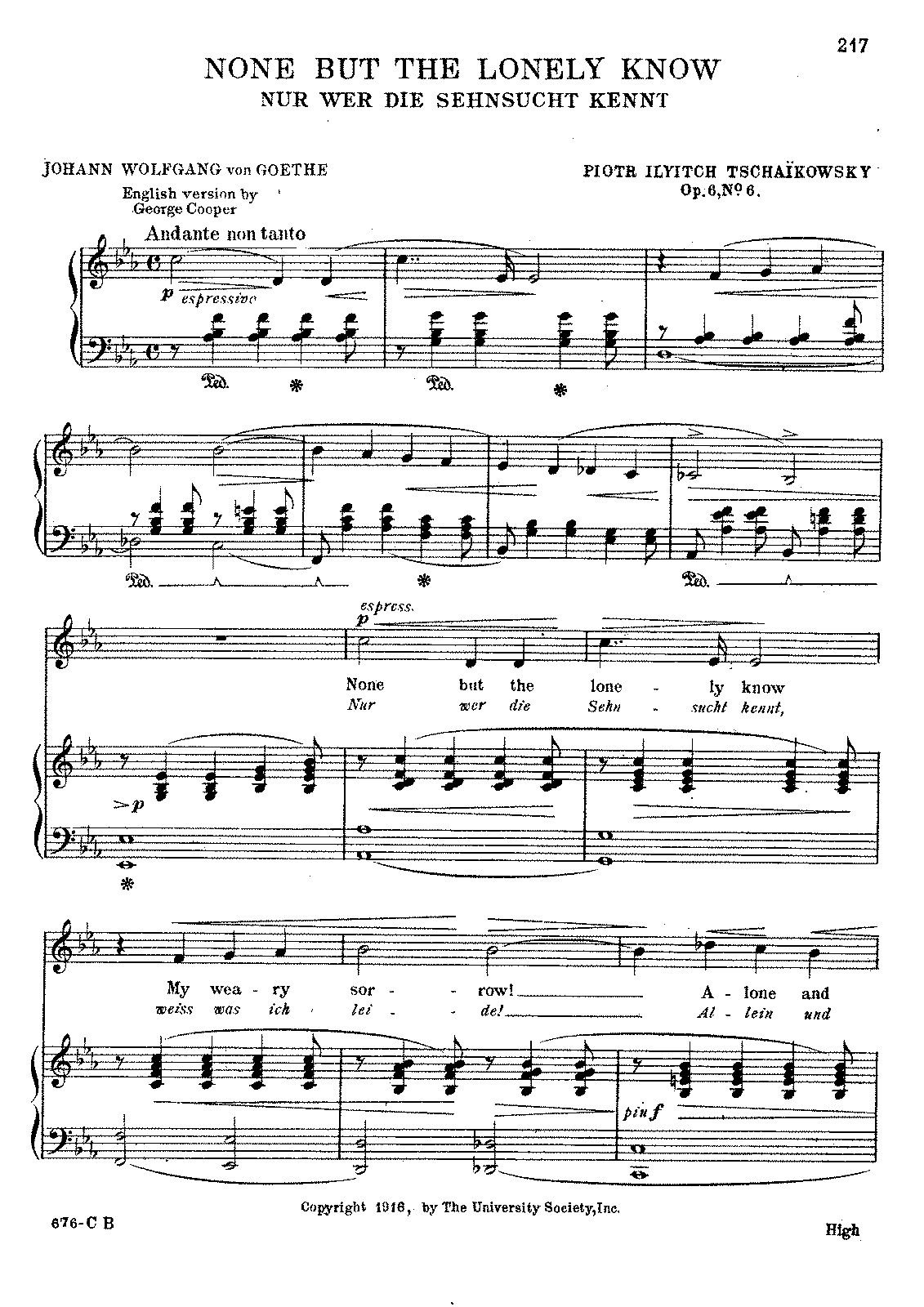Tchaikovsky - 'None but the Lonely Know,' Op. 6, No. 6.pdf