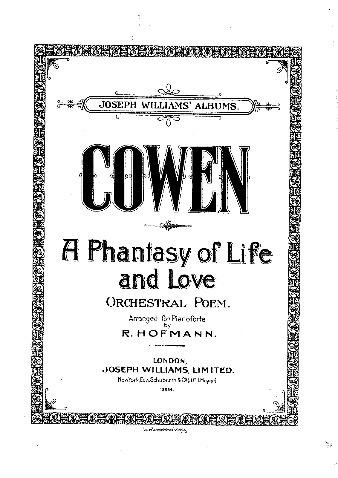 PMLP304958-Cowen, Frederic Hymen - A Phantasy of Life and Love.pdf