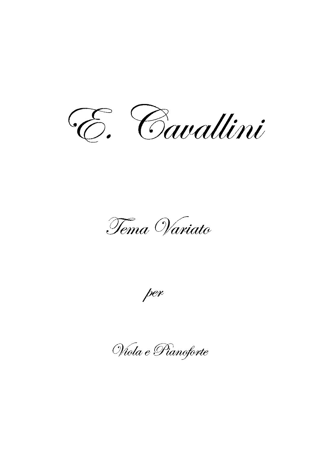 Cavallini, Eugenio - Theme With Variations For Viola -Elibron ed-.pdf