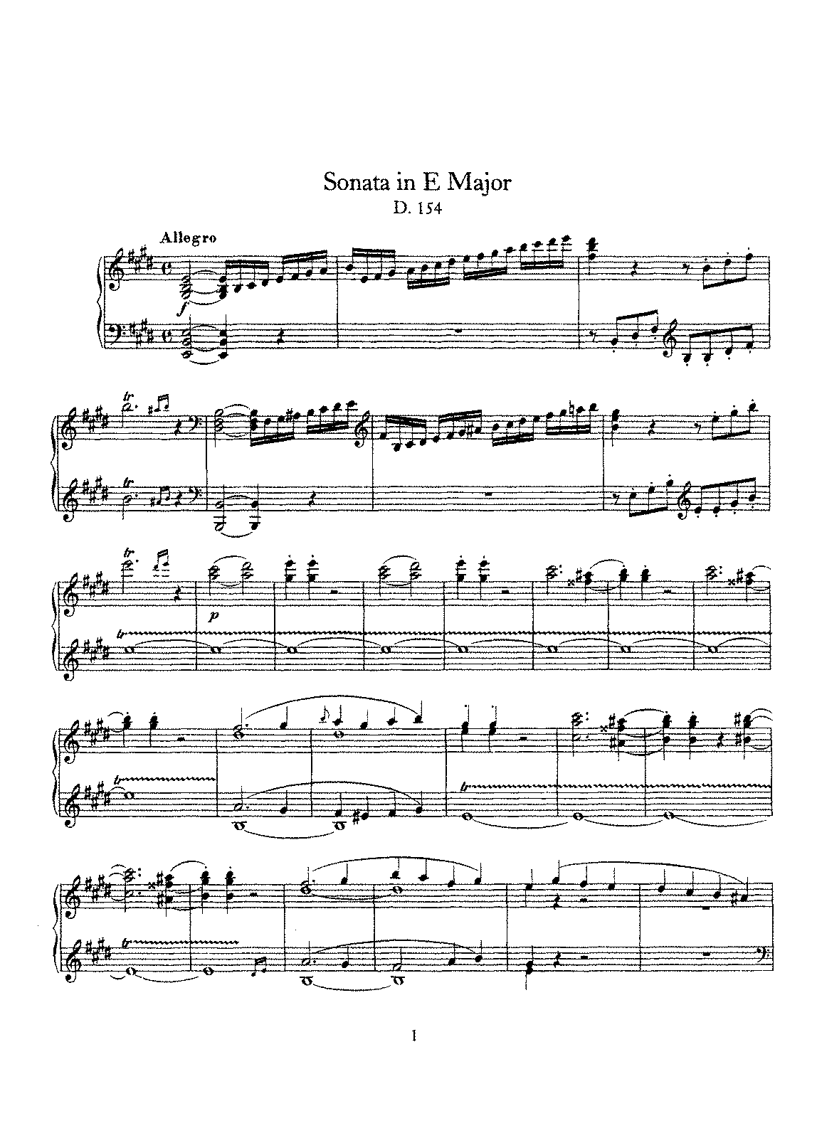 Schubert - D.154 - Piano Sonata in E Major.pdf