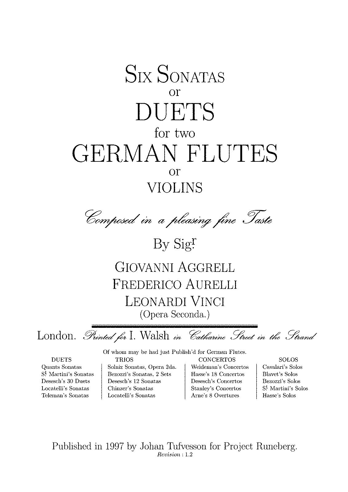 Agrell - Six Sonatas or Duets for Two German Flutes (or Violins).pdf