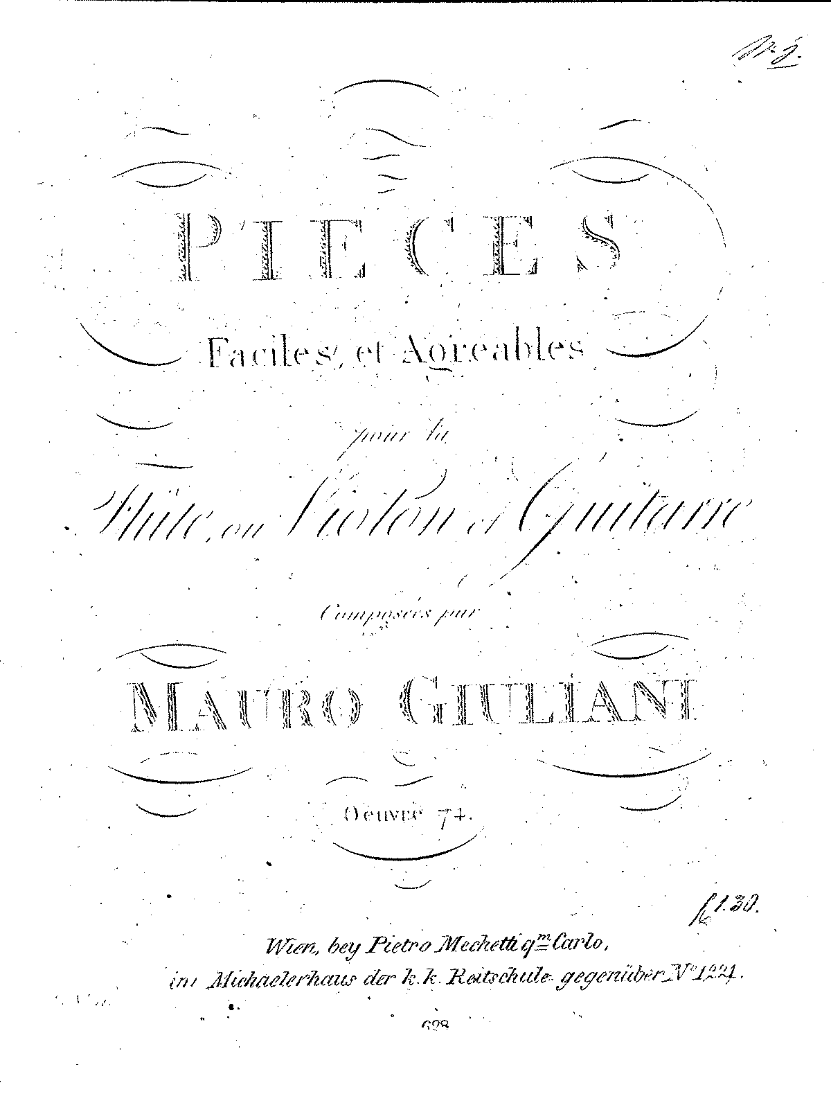 Mauro op74 16 Pieces Faciles (Flute and Guitar).pdf