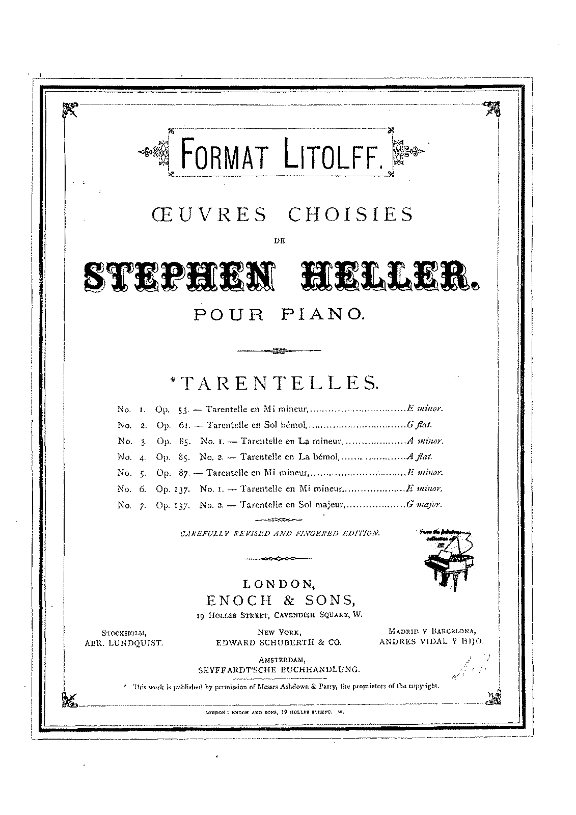 Heller - Op.53 - Tarantelle in E minor.pdf