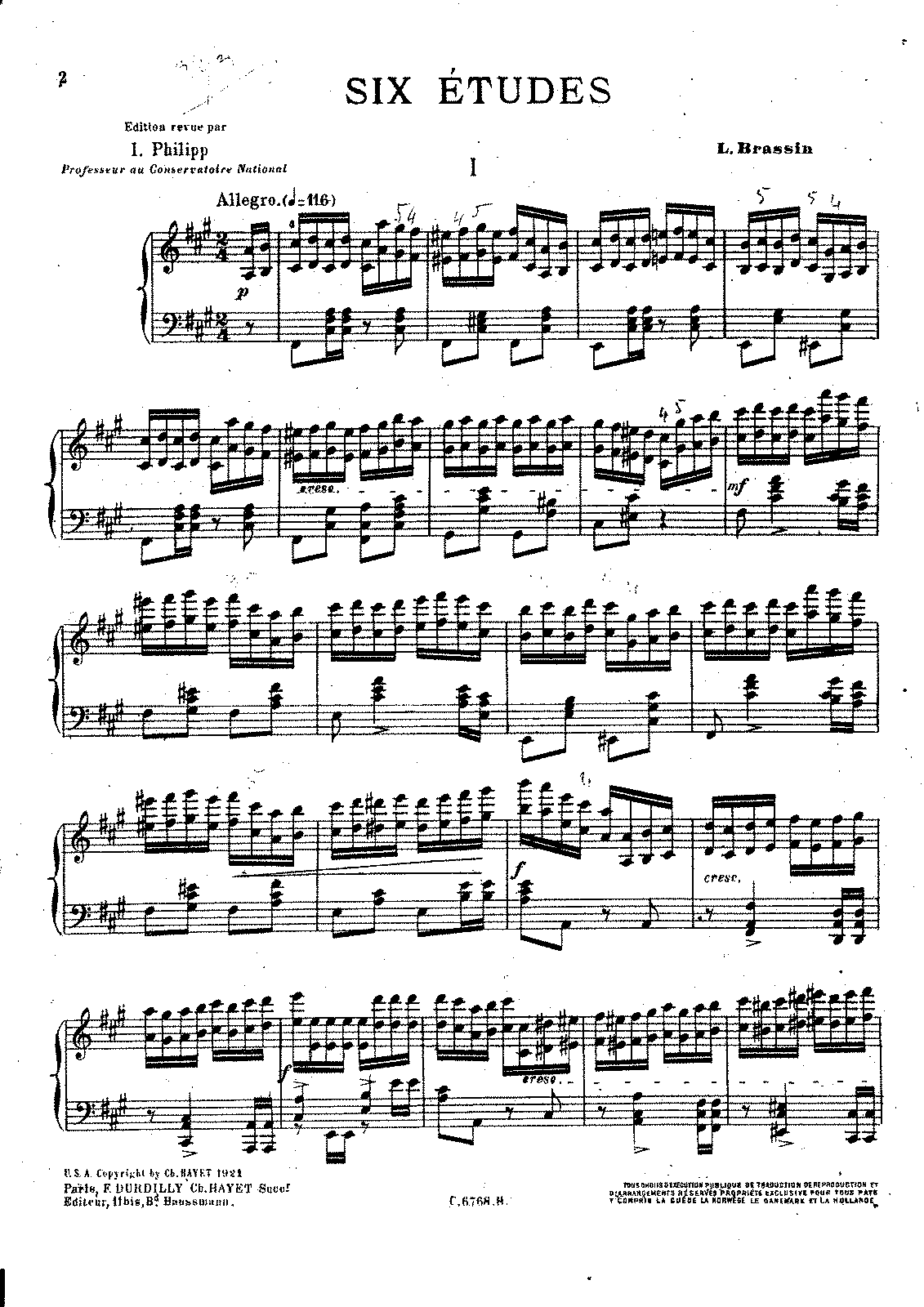 PMLP169593-Brassin - Six Etudes - Edition Philippe.pdf