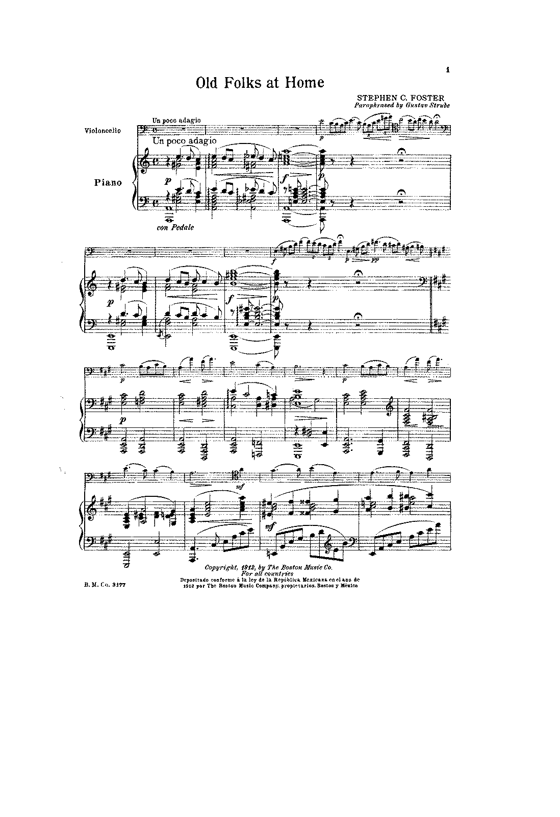 PMLP23988-Foster - Old folks at home for Cello and Piano (Strube) score.pdf