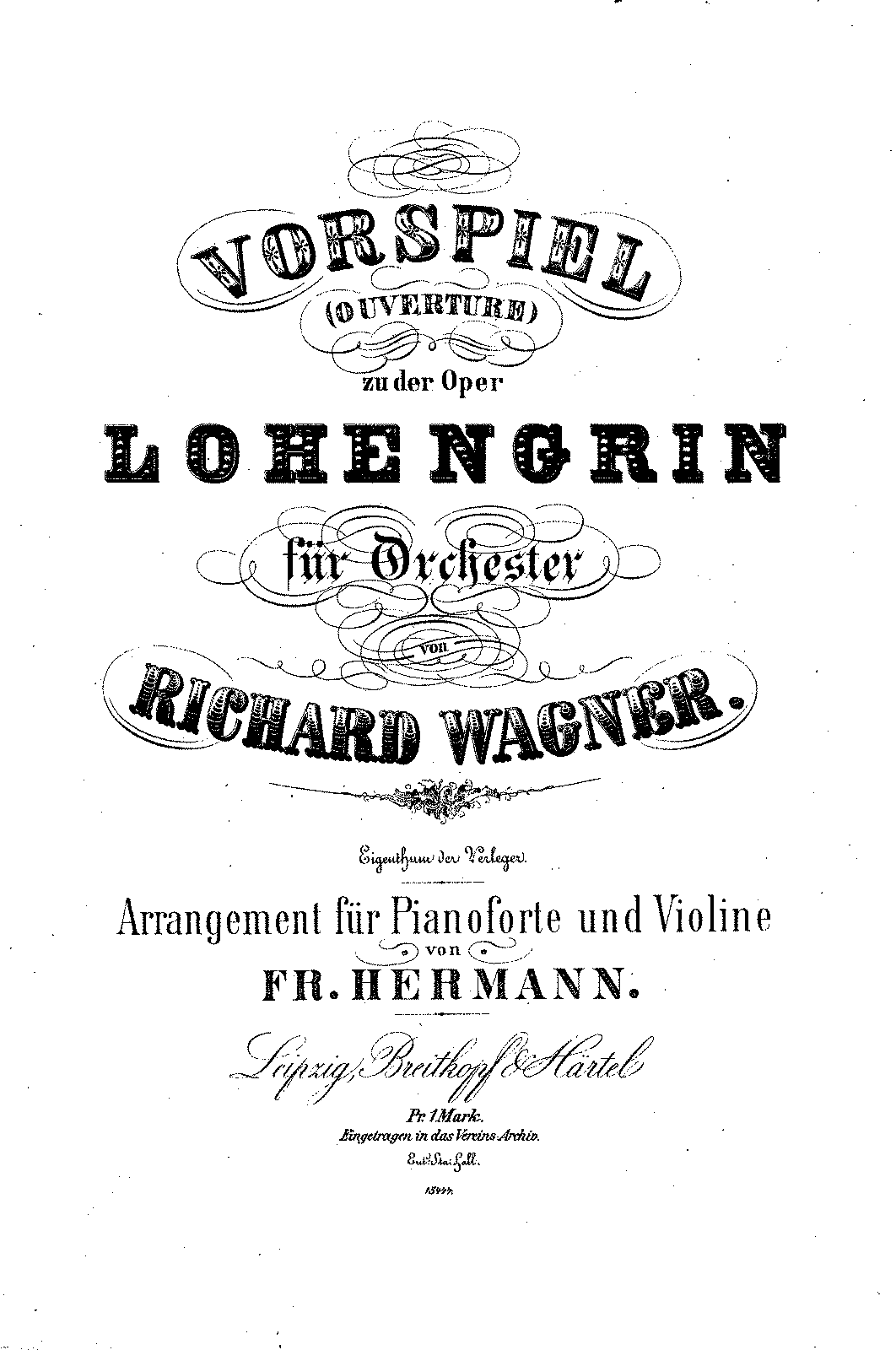 PMLP03617-Wagner - Lohengrin Vorspiel (Hermann) for Violin & Piano.pdf