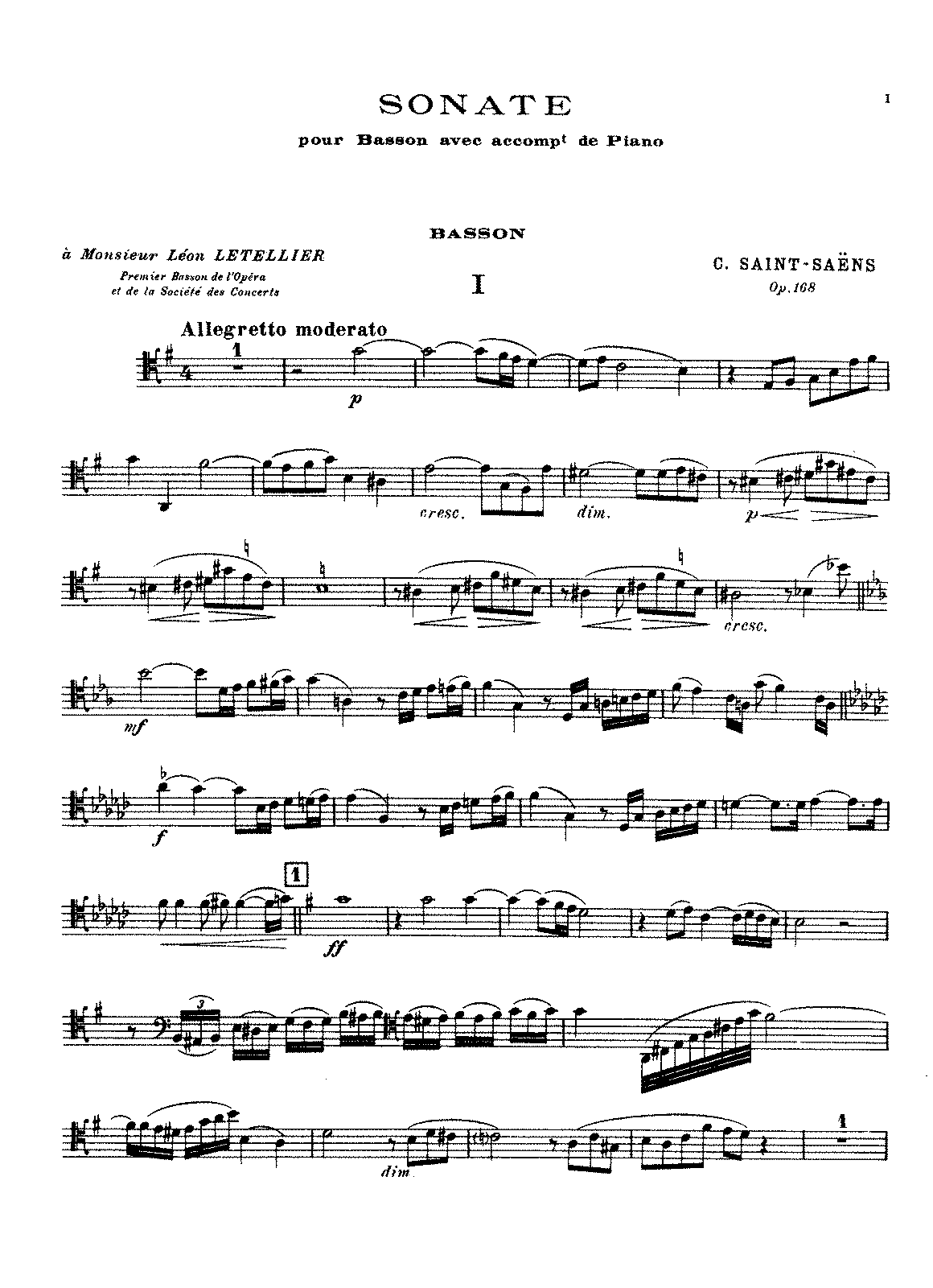 PMLP68835-Saint-Saëns - Sonata for Bassoon and Piano, Op. 168.pdf