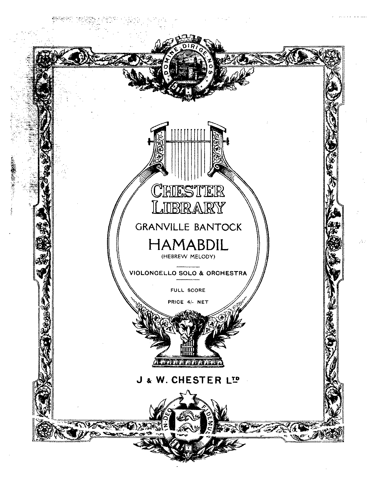 PMLP154681-Bantock - Hamabdil (Hebrew melody) for Cello Strings kettledrum and harp (or piano) score.pdf