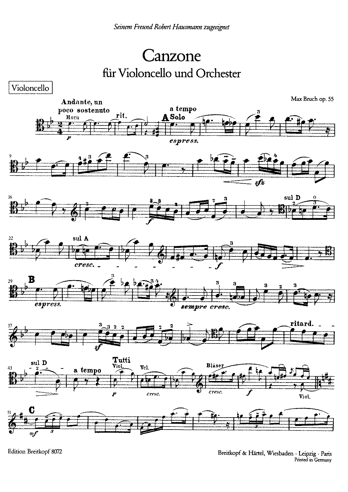 PMLP29555-Bruch Canzone Op55 Cello Part.pdf