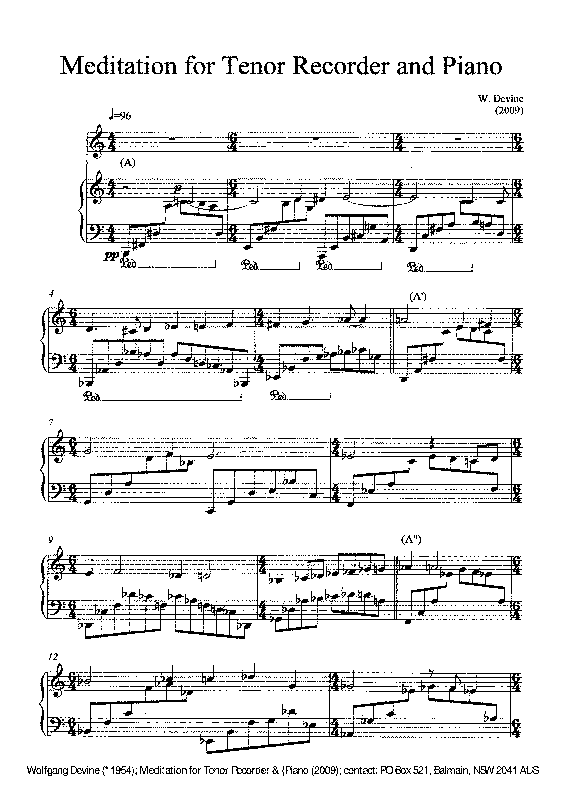 PMLP208804-Devine Wolfgang Tenor Recorder Piano Meditation 2009.pdf