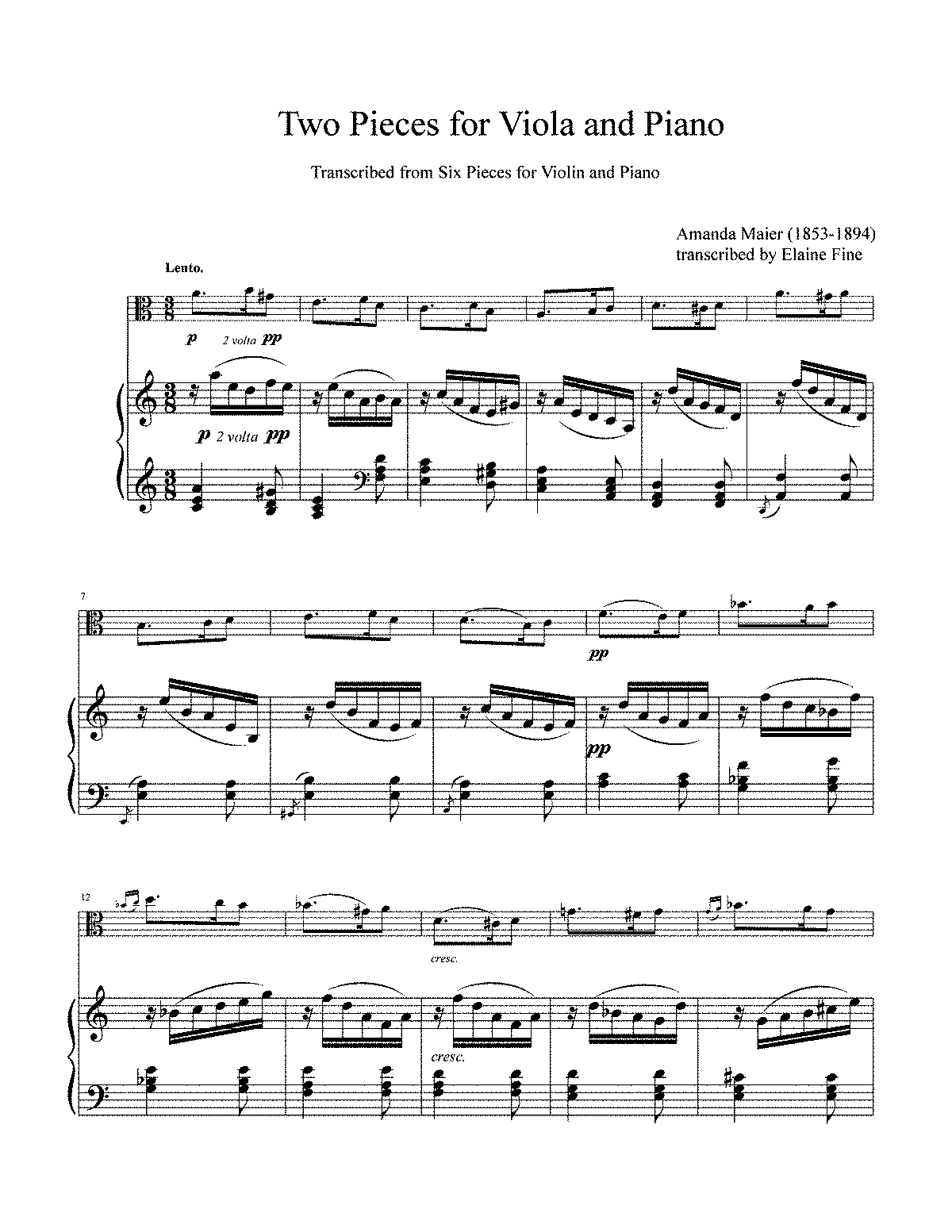 PMLP493877-Maier Viola Transcription pieces 3 and 5 score and part.pdf