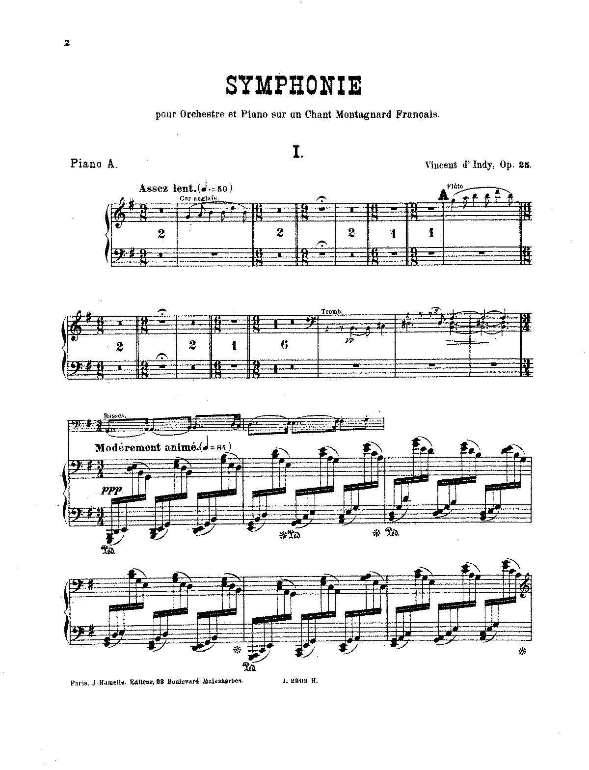 D'Indy - Symphony on a French Mountain Air, Op. 25 (red. 2 pianos).pdf