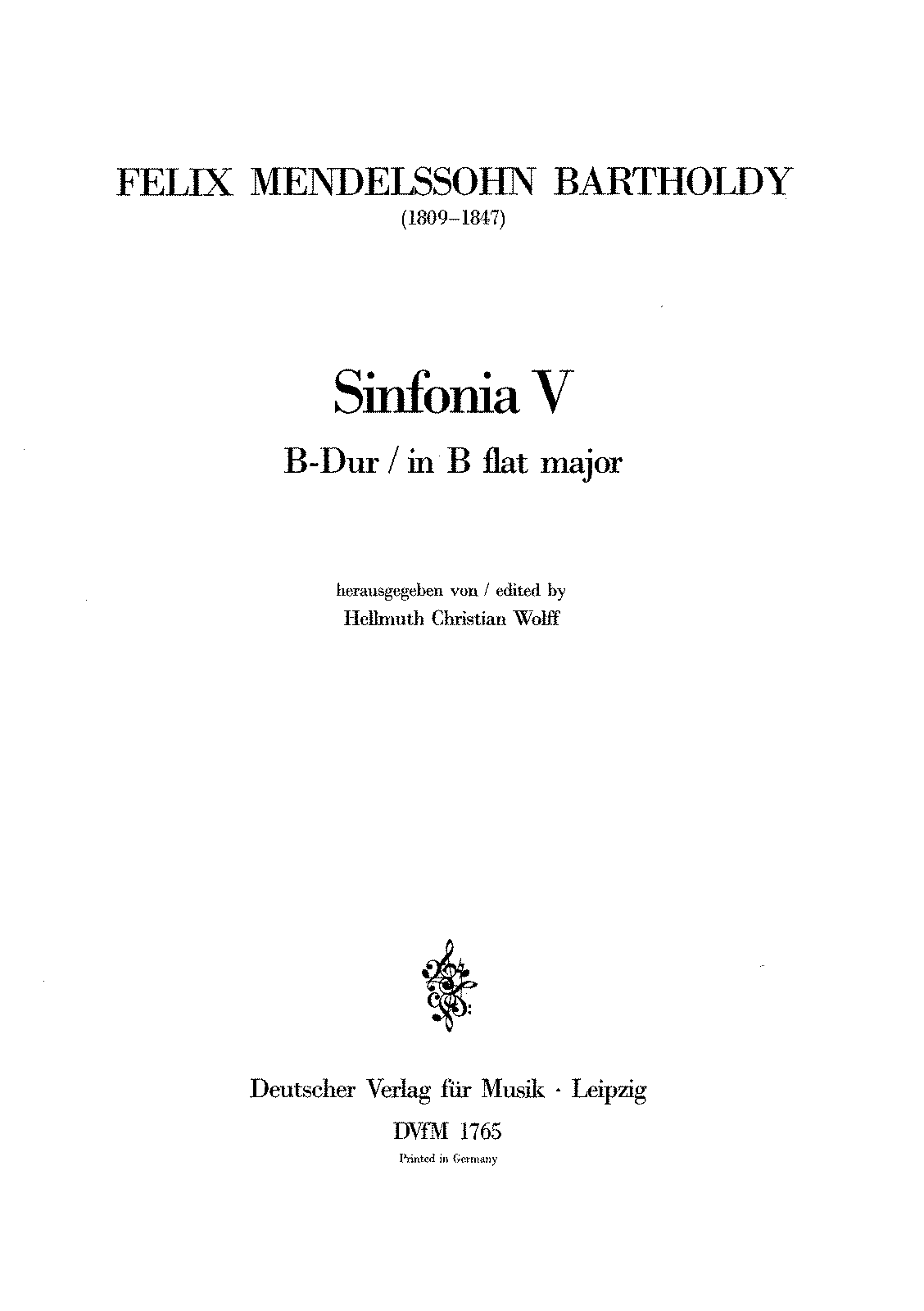PMLP207408-Mendelssohn, Felix - Sinfonia for String no. 05 in B flat major MWV N 5.pdf