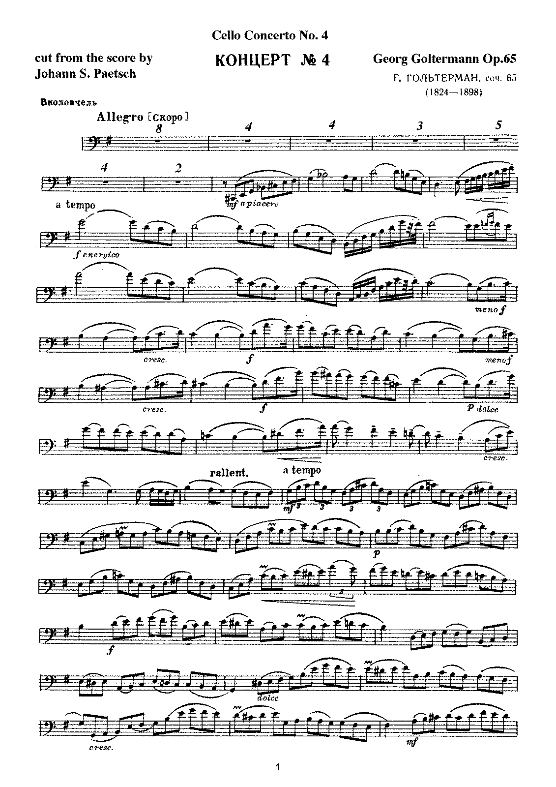 PMLP44344-Goltermann - Cello Concerto No4 Op65 (Paetsch) cello part .pdf