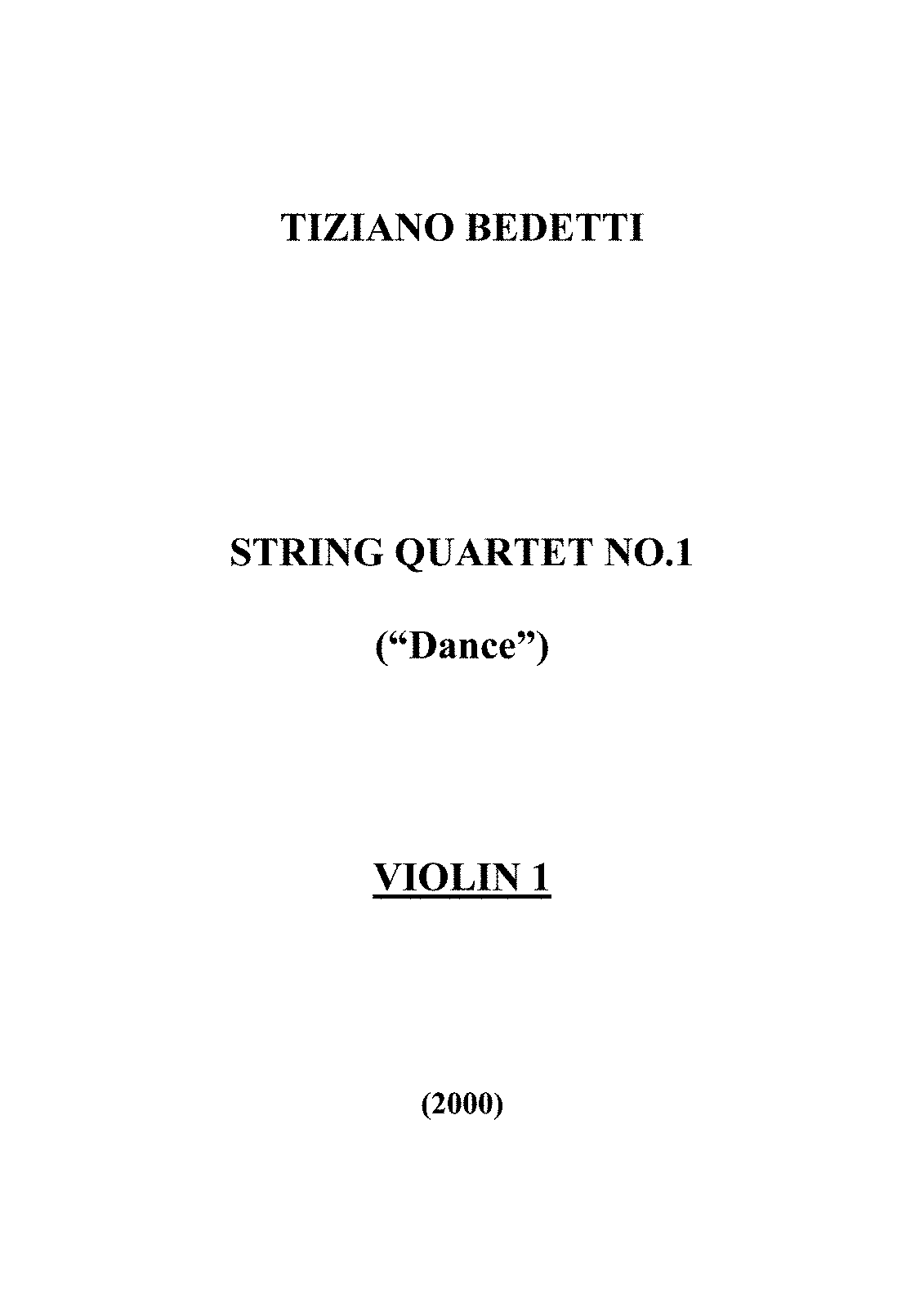 PMLP400431-Bedetti - String Quartet N°1 - Violin 1 part.pdf