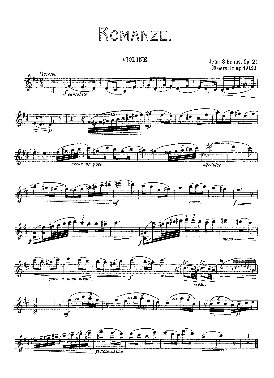 Sibelius - 2 Pieces for Violin and Piano, Op.2.pdf
