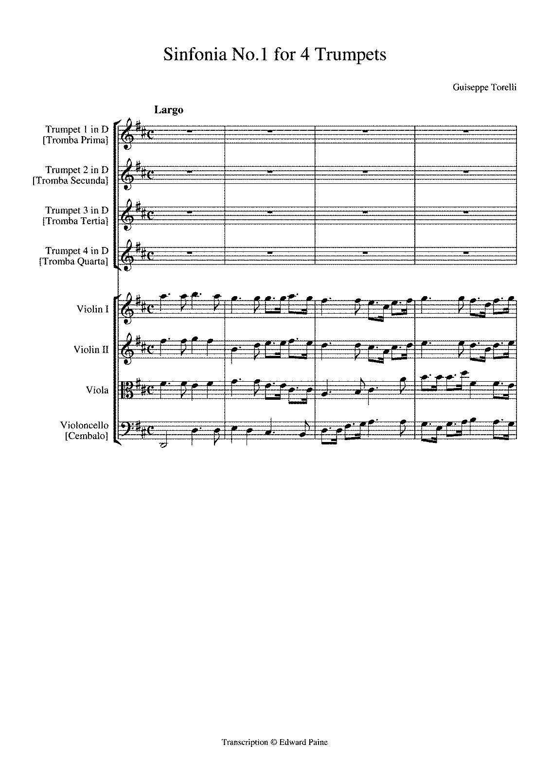 PMLP133026-Torelli - Sinfonia No 1 for 4 Trumpets.pdf