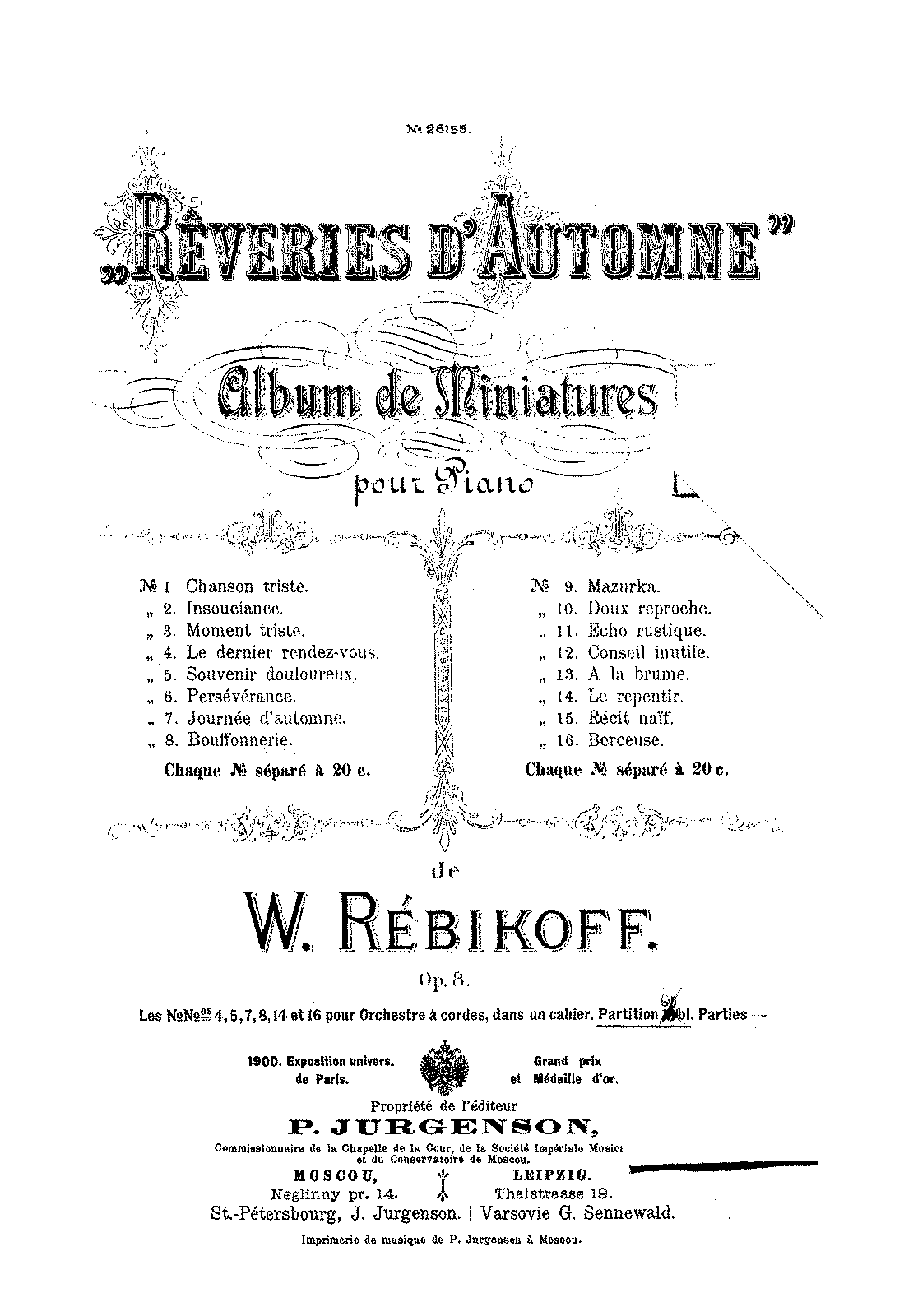 PMLP74941-Rebikov - 08 - Reveries d'automne (nn.4,5,7,8,14,16) for strings.pdf